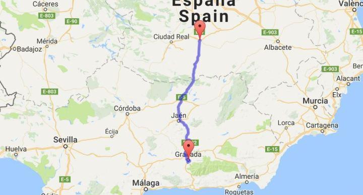 11 juni Manzanares - Granada