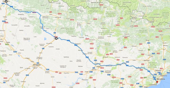 21 juni Pamplona - BCN